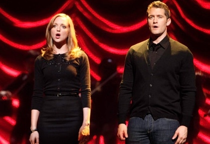 Jayma Mays, Matthew Morrison at First Look - Tonight's 'The Break-Up' Episode on GLEE