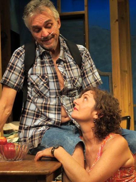 Peter Galman and Gina Bonati Photo