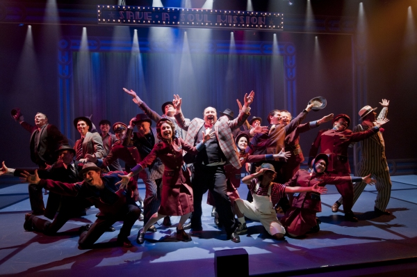 Tracy Michailidis, Mike Paterson, and Ensemble at First Look at Segal Centre's GUYS AND DOLLS