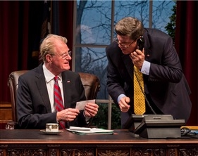 Photo Flash: First Look at Felicity Huffman, Ed Begley, Jr and More in NOVEMBER at the Taper