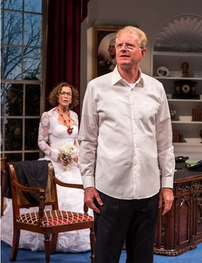 Felicity Huffman and Ed Begley, Jr.