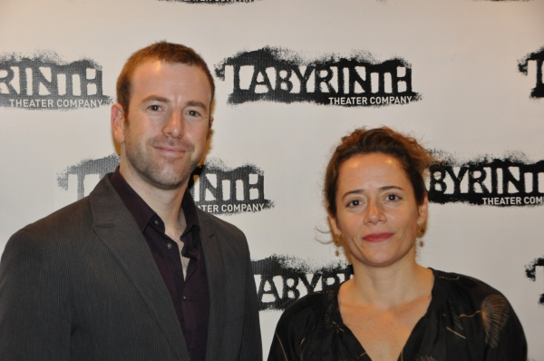 Danny Feldman (Managing Director) and Mimi O'Donnell (Co-Artistic Director)