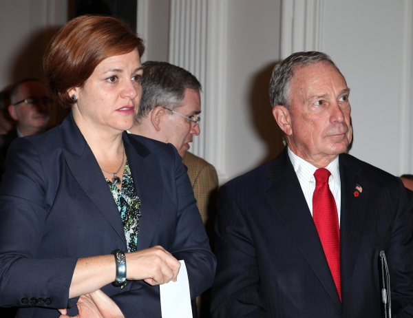 City Council Speaker Christine Quinn & Mayor Michael Bloomberg