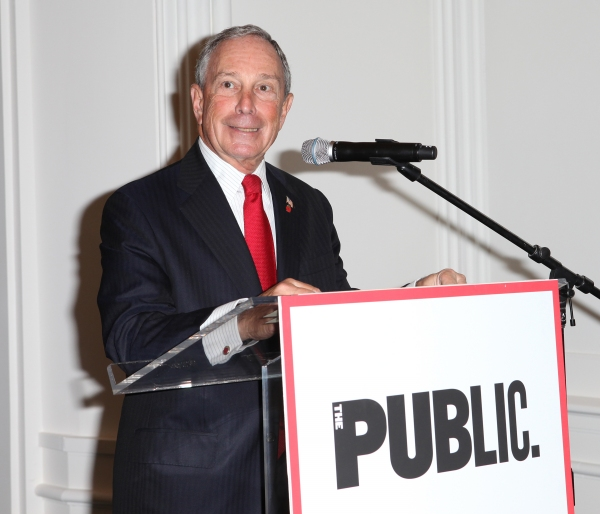 Mayor Michael Bloomberg at Complete Vanessa Redgrave, Liev Schreiber, and More at Revitalized Public Theater Unveiling