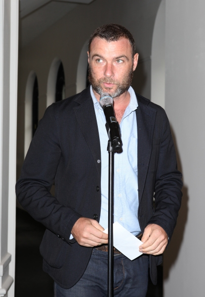 Liev Schreiber at Complete Vanessa Redgrave, Liev Schreiber, and More at Revitalized Public Theater Unveiling