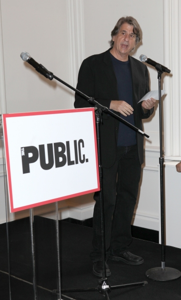 David Rockwell at Complete Vanessa Redgrave, Liev Schreiber, and More at Revitalized Public Theater Unveiling