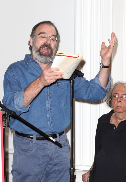 Mandy Patinkin  at Complete Vanessa Redgrave, Liev Schreiber, and More at Revitalized Public Theater Unveiling