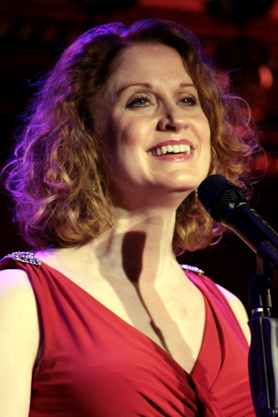 Christiane Noll at Andrea Martin, Sherie Rene Scott Give Preview at 54 Below!