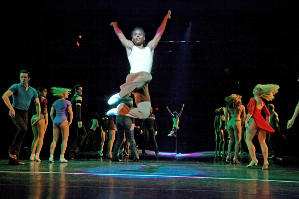 Kevin Curtis and the Company of A Chorus Line