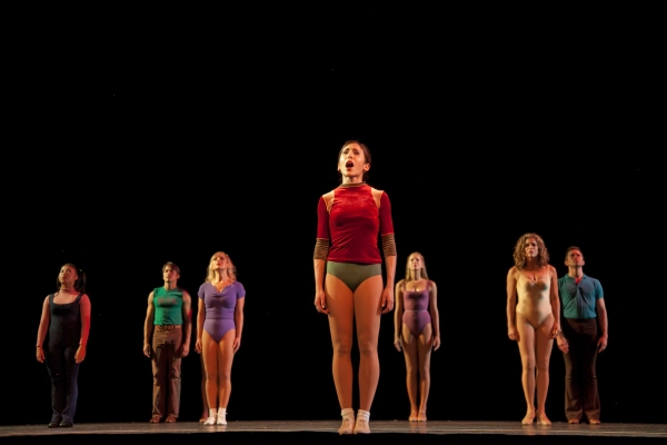 Gabrielle Ruiz and the Company of A Chorus Line at First Look at Paper Mill Playhouse's A CHORUS LINE!
