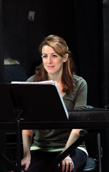 Kate Wetherhead at In Rehearsal with THE OTHER JOSH COHEN
