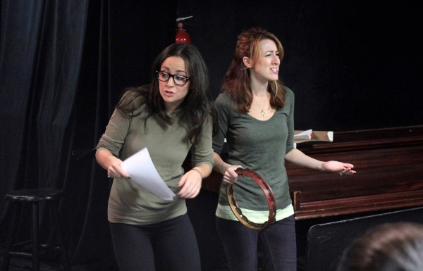 Hannah Elless, Kate Wetherhead at In Rehearsal with THE OTHER JOSH COHEN