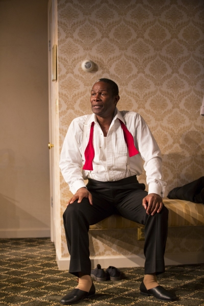 John Douglas Thompson at First Look at John Douglas Thompson in SATCHMO AT THE WALDORF at Long Wharf Theatre