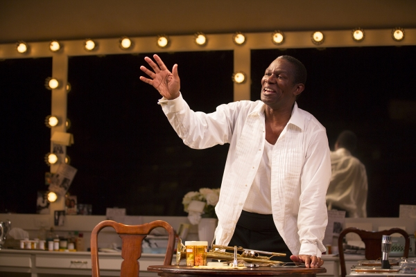Photo Flash: First Look at John Douglas Thompson in SATCHMO AT THE WALDORF at Long Wharf Theatre