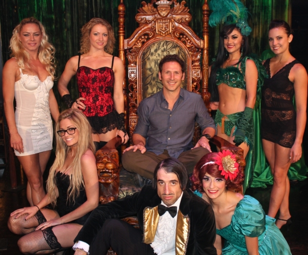 Photo Flash: USA's ROYAL PAINS Star Mark Feuerstein Spotted at ABSINTHE