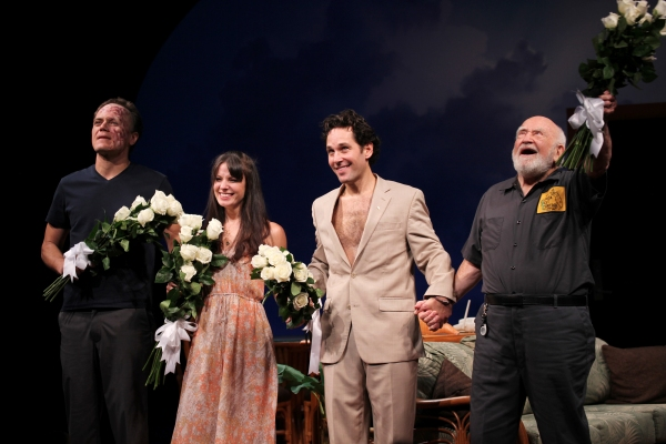 Michael Shannon, Kate Arrington, Paul Rudd and Ed Asner