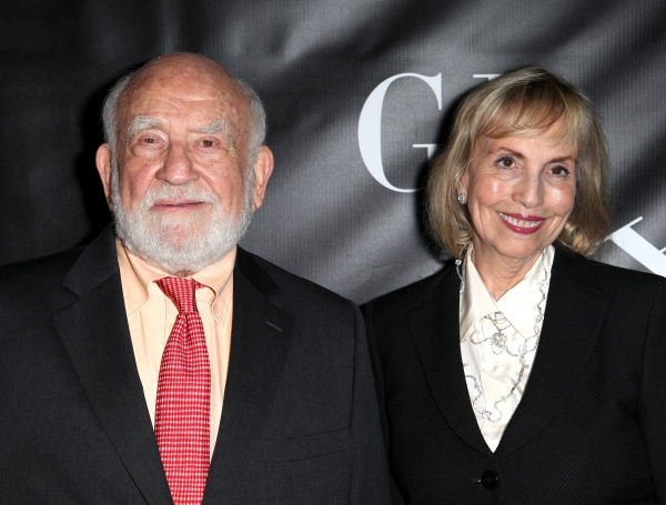 Ed Asner and Cindy Asner