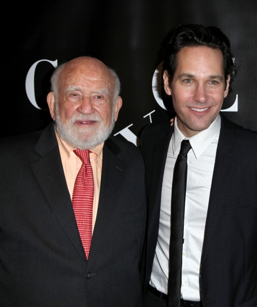 Ed Asner and  Paul Rudd on 10/4/2012. at GRACE Opening Night After Party
