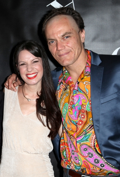 Kate Arrington and Michael Shannon  at GRACE Opening Night After Party