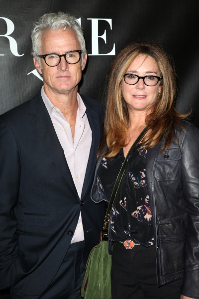 John Slattery and Talia Balsam at  GRACE Opening Night Red Carpet Arrivals