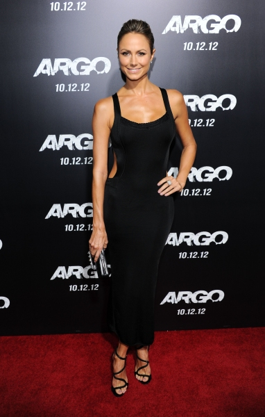 Stacy Keibler 'Argo' film premiere, Los AngelesWEARING AZZEDINE ALAIA (Photo by Stewart Cook / Rex USA)