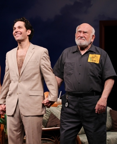Paul Rudd, Ed Asner at THIS WEEK IN PICTURES: October 1 - 5