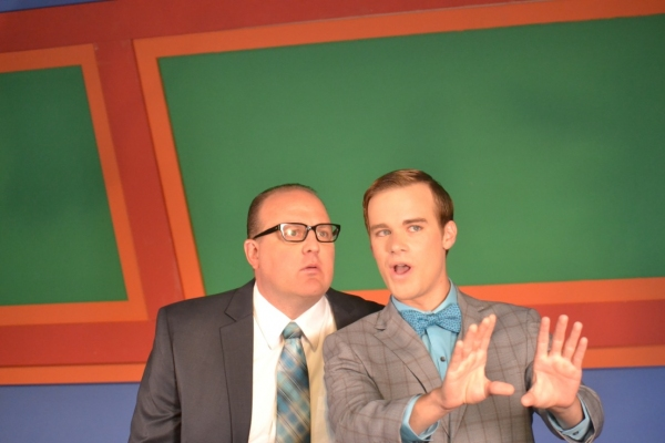 Kevin Covert (J.B. Biggley) and Nathan Jentink (Finch)