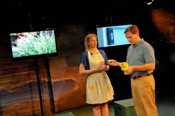 Photo Flash: First Look at Kendra Thulin, Leah Karpel and More in Strawdog's NEIGHBORHOOD 3: REQUISITION OF DOOM