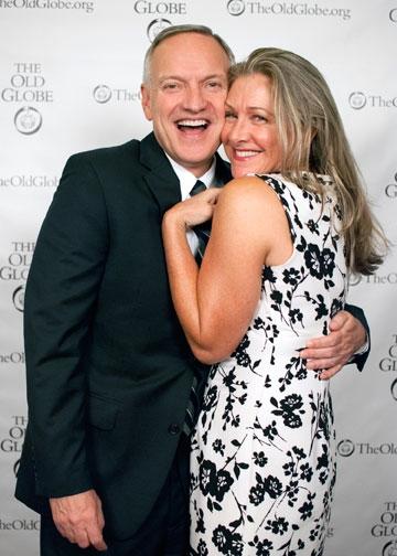 Paul Mullins and Carol Halstead