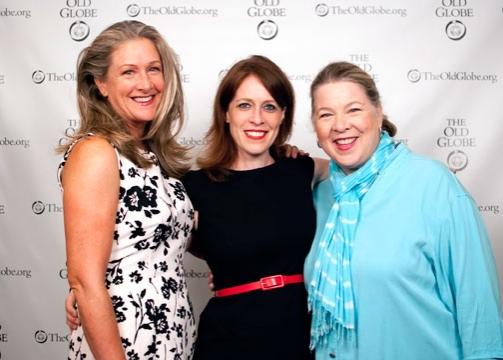 Carol Halstead, Eva Kaminsky and Robin Pearson Rose