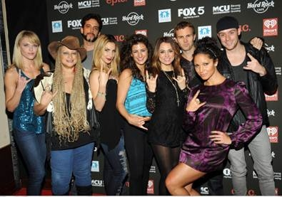 Photo Flash: ROCK OF AGES and More at Hard Rock Rocks Times Square Benefit Concert