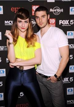 Karmin's Amy Heidemann and Nick Noonan