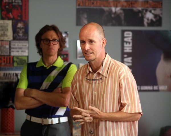 SIMON TEMPLEMAN, CHRIS KOCH (DIRECTOR)    at A Behind-the-Scenes Peek at THE NEIGHBORS' Halloween Episode