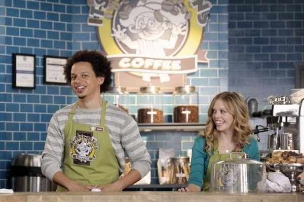 ERIC ANDRE, DREAMA WALKER    at A First Look at DON'T TRUST THE B---- IN APARTMENT 23's Premiere Episode!