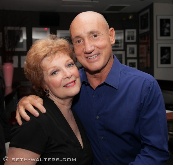 Anita Gillette and Gianni Valenti at Broadway at Birdland Hosts Anita Gillette's AFTER ALL, Jim Caruso's Cast Party