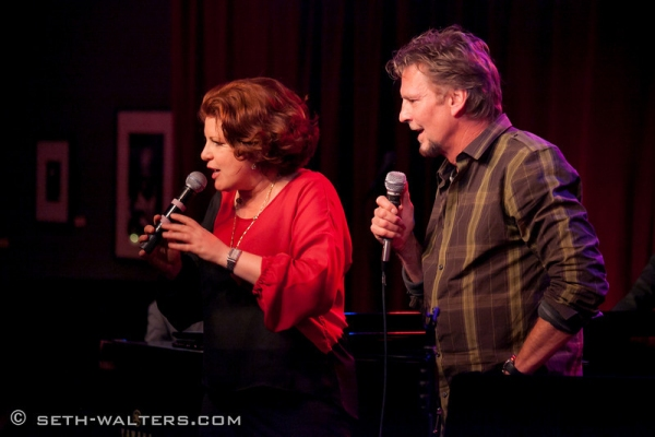 Klea Blackhurst and Kenny Loggins at Broadway at Birdland Hosts Anita Gillette's AFTER ALL, Jim Caruso's Cast Party