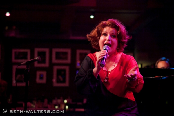 Klea Blackhurst at Broadway at Birdland Hosts Anita Gillette's AFTER ALL, Jim Caruso's Cast Party