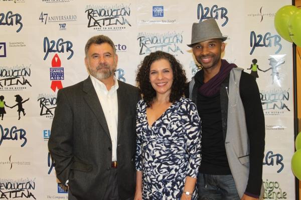 Felipe Gorostiza, Blanca Camacho and Antuan Raimone  Photo