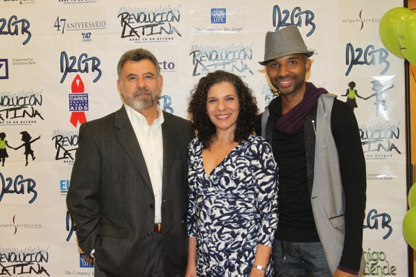 Felipe Gorostiza, Blanca Camacho and Antuan Raimone  at Amigo Duende  Opening Night