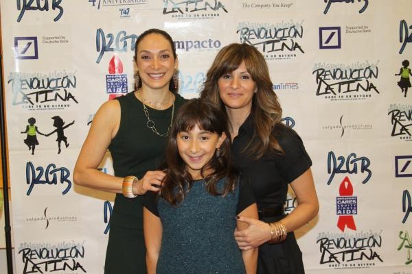 Gabriela Garcia, Emma Garcia and Odalys Molina  at Amigo Duende  Opening Night