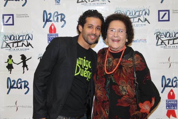 Luis Salgado and Fatima Lugo De Marichal  at Amigo Duende  Opening Night