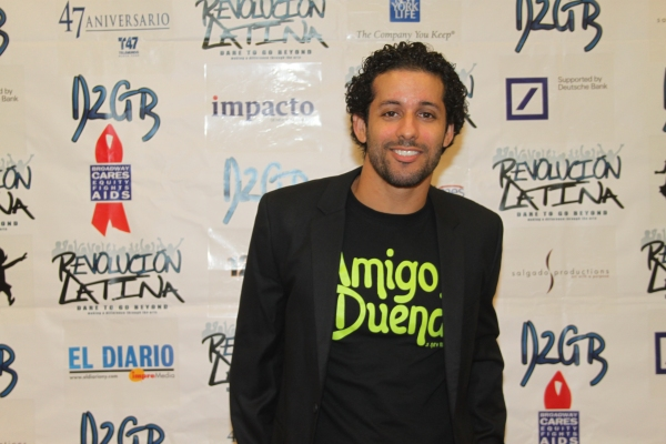 Luis Salgado  at Amigo Duende  Opening Night