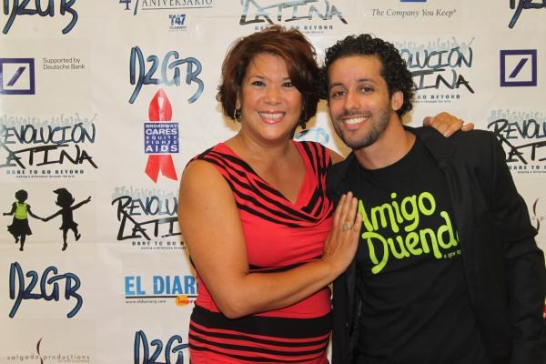 Doreen Montalvo and Luis Salgado