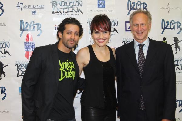 Luis Salgado, Denisse Ambert and Garry Hattem