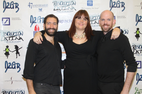 Manuel De La Portilla, Kate Rance and Justyn Wade  at Amigo Duende  Opening Night