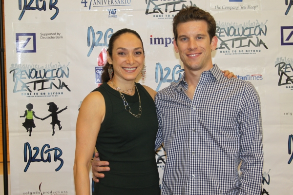 Gabriela Garcia and Chris Harbur  at Amigo Duende  Opening Night