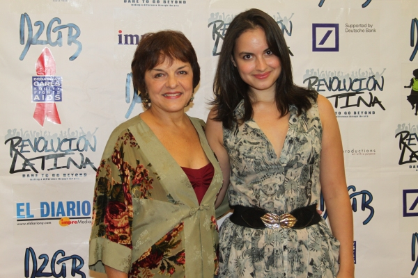 Priscilla Lopez and Gabriela Fanuele  at Amigo Duende  Opening Night