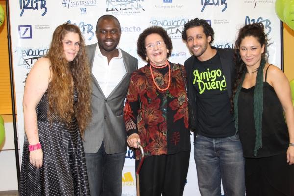 Heather Hogan, Joshua Henry, Flavia Lugo De Marichal, Luis Salgado and Valeria Cossu