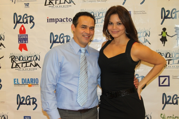 Ruben Flores and Jennifer Diaz