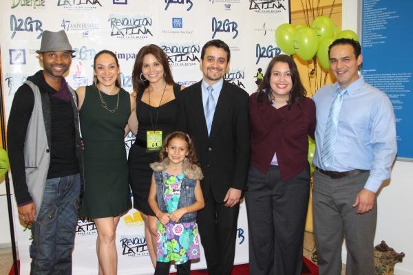 Antuan Raimone, Gabriela Garcia, Jennifer Diaz, Nicolette Pierini, Javier E. Gomez, Vanessa Aspillaga and Ruben Flores